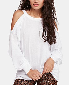Chill Out Cold-Shoulder Top