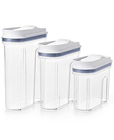 All-Purpose 3-Pc. Food Storage & Dispenser Set