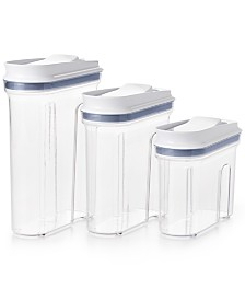 OXO All-Purpose 3-Pc. Food Storage & Dispenser Set