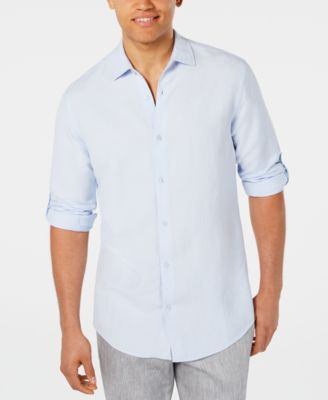 Men's Platoon Linen Shirt, Created for Macy's