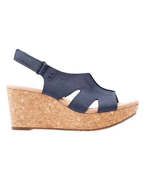 393d17af9 Clarks Collection Women s Annadel Bari Wedge Sandals   Reviews ...