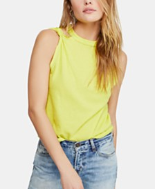 Free People The Twist Cotton Tank Top