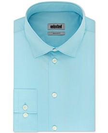 Unlisted Men's Classic/Regular-Fit Solid Dress Shirt