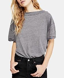 Viola Open-Back High-Neck T-Shirt