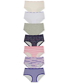 Calvin Klein Big Girls 7-Pack Hipster Underwear