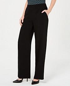 Elastic-Waist Pull-On Pants