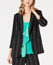 5b9a2cbb72c60 Bar III Striped Open-Notch Collar Jacket, Created for Macy's