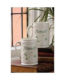 Himself and Herself Mug Set