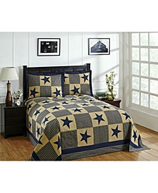 Star Twin Bedspread and Sham Set