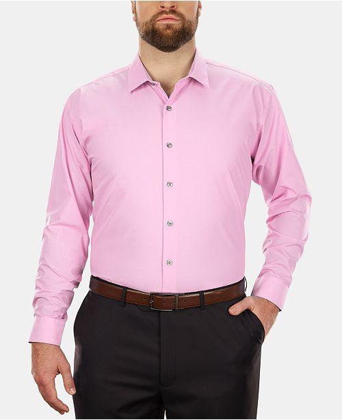 Kenneth Cole Men's Big & Tall Classic-Fit Dress Shirt