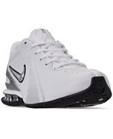4484181c04de1 Nike Men s Reax Trainer III Synthetic Leather Training Sneakers from Finish  Line