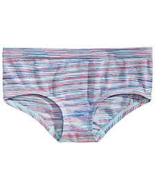 Maidenform Little & Big Girls Striped Seamless Hipster Underwear