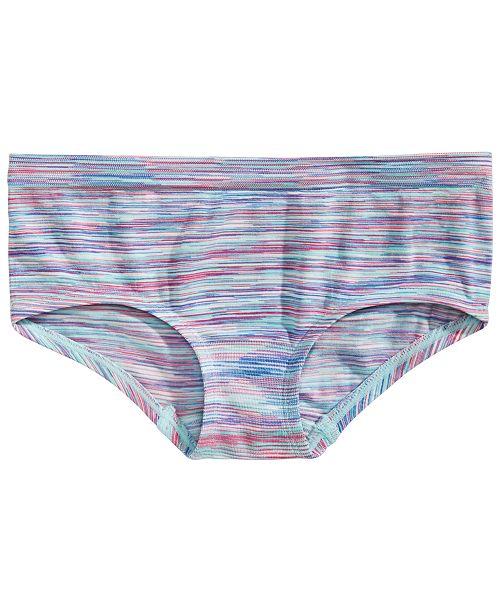 Maidenform Little & Big Girls Striped Seamless Hipster Underwear