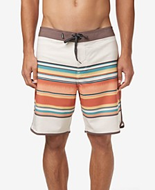 "Men's Hyperfreak Lined Up 19"" Boardshorts"