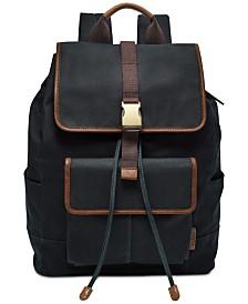Fossil Men's Buckner Canvas Rucksack Backpack