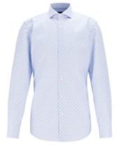 7e6dec4c8 BOSS Men's Jason Slim-Fit Cotton Shirt