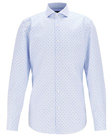BOSS Men's Jason Slim-Fit Cotton Shirt