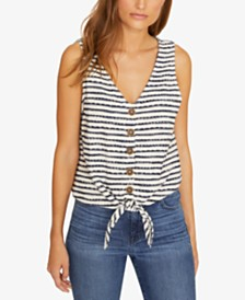 Sanctuary Tied To You Striped Tank Top