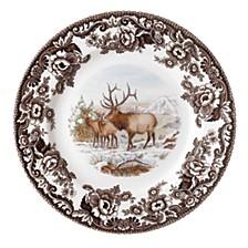 Woodland Elk Salad Plate