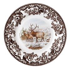 Spode Woodland Elk Salad Plate