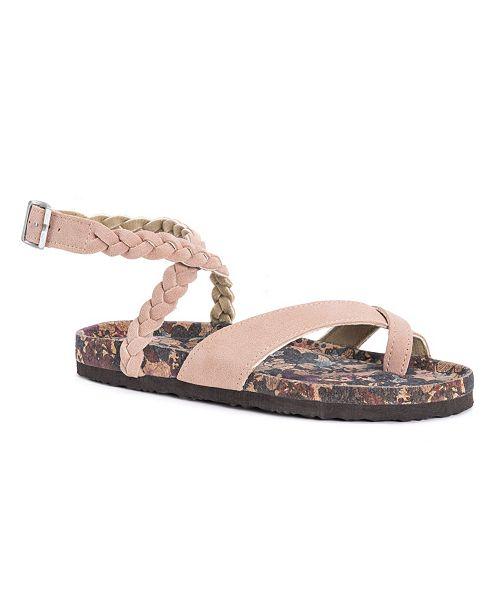 4e4e092f1d6 Muk Luks Women s Estelle Sandals   Reviews - Home - Macy s