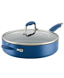 Advanced Home Hard-Anodized Nonstick 5-Qt. Sauté Pan with Helper Handle