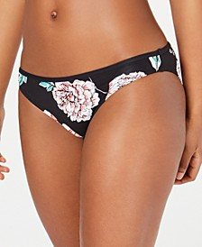 Juniors' Surfin Love Printed Bikini Bottoms