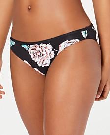 Roxy Juniors' Surfin Love Printed Bikini Bottoms
