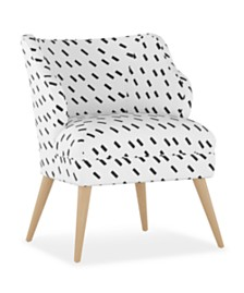 Natalie Modern Chair, Quick Ship