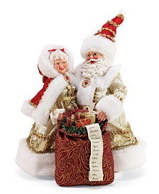 Department 56 Possible Dreams Santa Golden Years Figurine