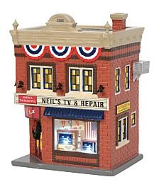 Department 56 Villages Neil's TV & Repair