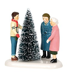 Department 56 Villages Choosing The Perfect Tree