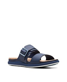 Clarks Women's Cloudsteppers Step June Tide Slide Sandals