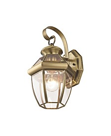 Monterey 1-Light Outdoor Wall Lantern