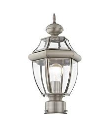 Livex Monterey 1-Light Outdoor Post Lantern