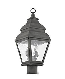 Exeter 2-Light Outdoor Post Lantern