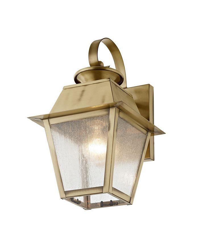 Livex - Mansfield 1-Light Outdoor Wall Lantern