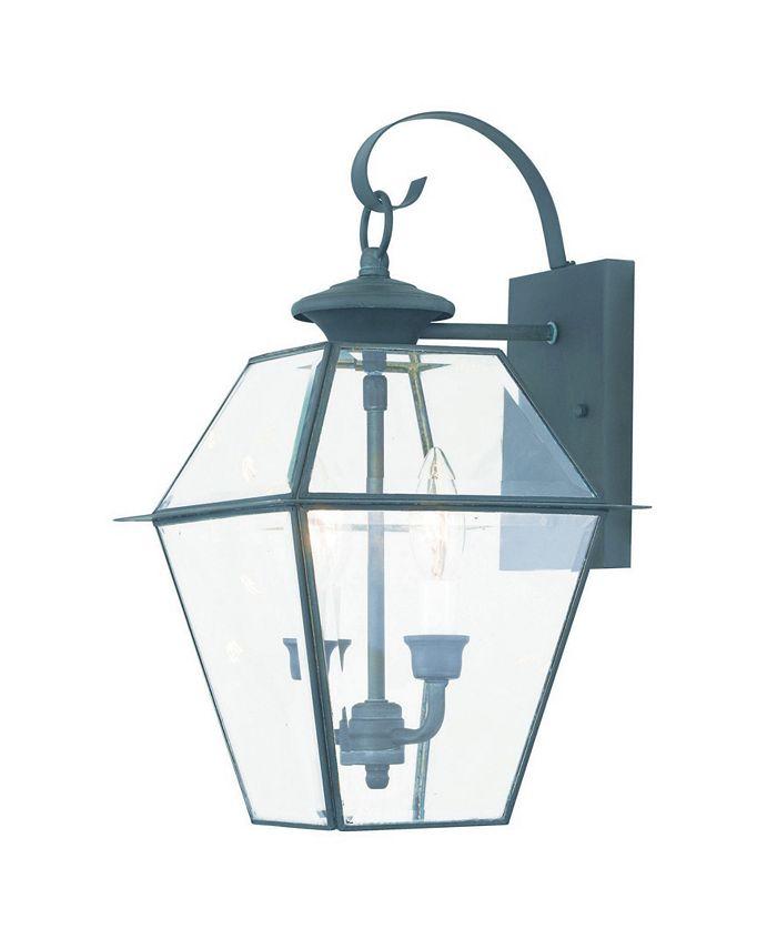 Livex - Westover 2-Light Outdoor Wall Lantern