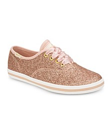 Toddler, Little & Big Girls Keds x Kate Spade Champion Glitter Sneaker