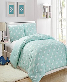 Chenia Reversible 3-Piece Full/Queen Comforter Set