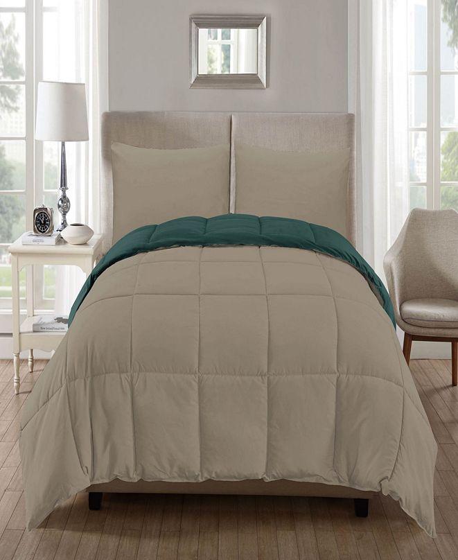 kensie Jackson 3-Pc. King Comforter Set