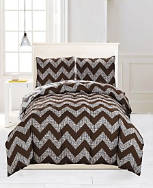 Wyatt Reversible 3-Pc. Full/Queen Comforter Set