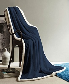 Andover Sherpa Throw Blanket