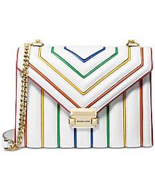 MICHAEL Michael Kors Whitney Rainbow Leather Shoulder Bag