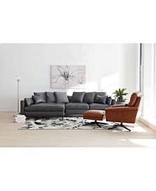 Plassey Leather Sectional Sofa Collection