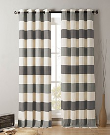 "Iouri 54"" x 84"" Striped Curtain Set"