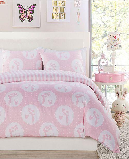 Duck River Textile Plie Dot 2 Piece Twin Comforter Set