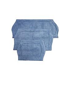 Waterford 3 Piece Bath Rug Set