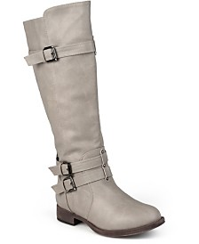 Journee Collection Women's Wide Calf Bite Boot