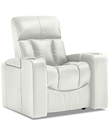 "Stratsford 39"" Leather Theater Power Recliner"